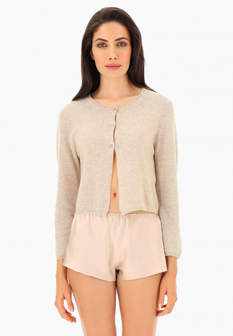 Cashmere and Merino Wool Pullover