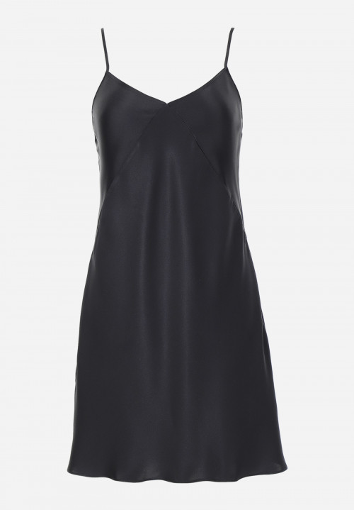 Silk Short Chemise With Thin Straps