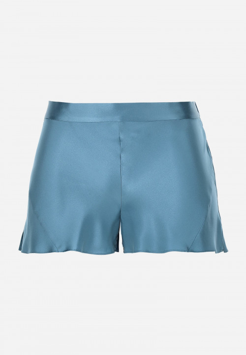 Silk Coulotte With Waistband