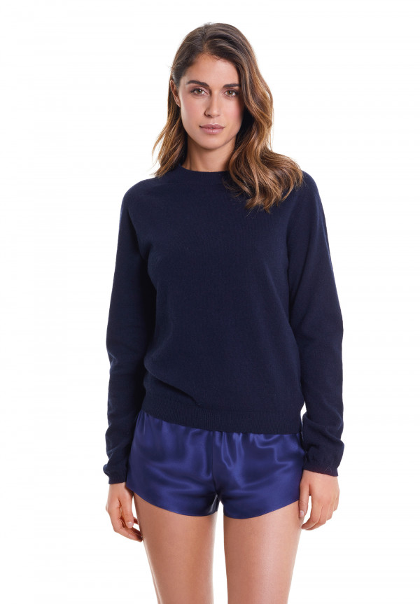 Pull A Girocollo In Lana/Cashmere