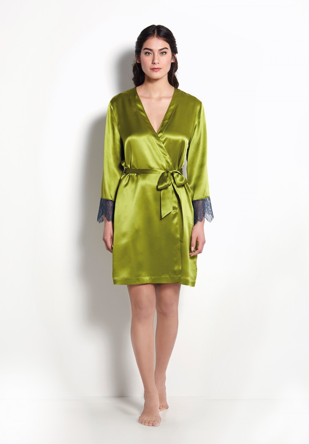 e1b66fb9d493 Silk Night Robe Uk