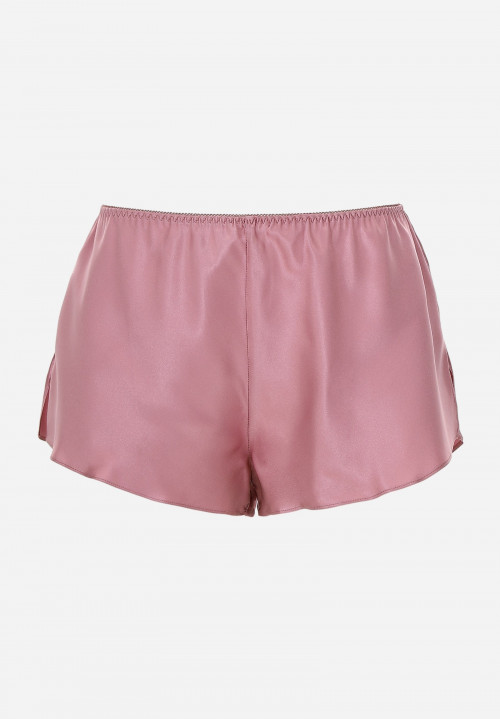 Silk Shorts with Side Slits