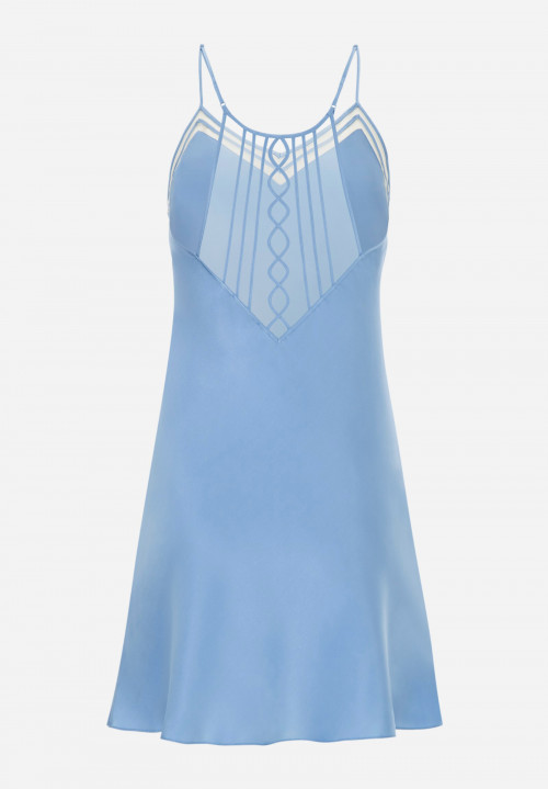 Piping Silk Chemise