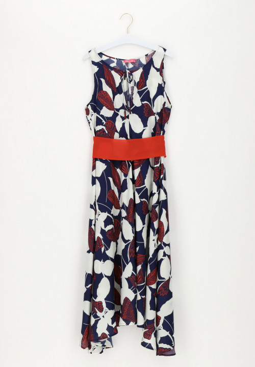 Viscose / Silk Long Dress